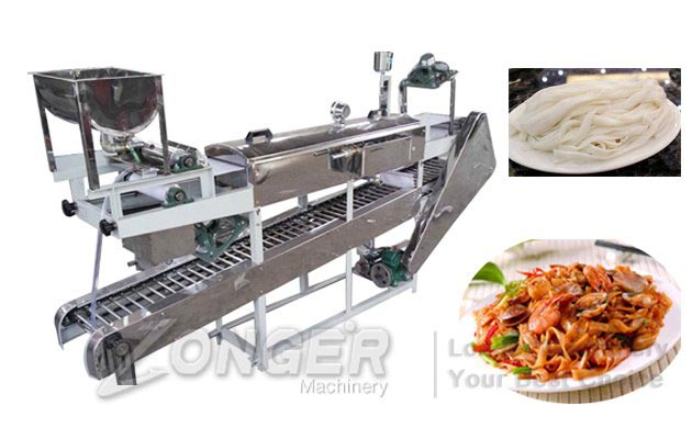 Automatic Rice Noodle Making Machine|Kweitau Pho Noodles Machine