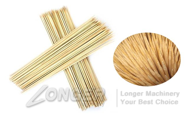 Bamboo Barbecue Sticks|Bamboo Skewer Production Line