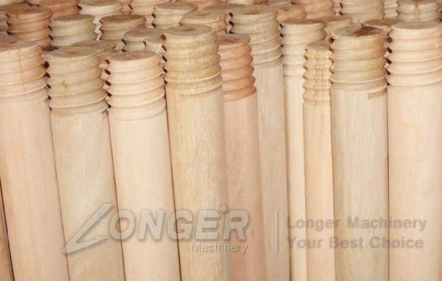 Wooden Mop Sticks Threading Machine|B