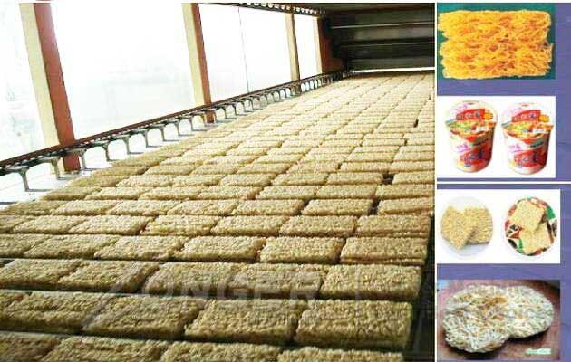 Fried Instant Noodle Processing Line|