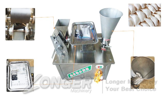 Automatic Chinese Dumplings Making Machine