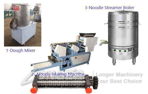 Automatic Noodles Making Machine|Commercial Fresh Noodles Maker