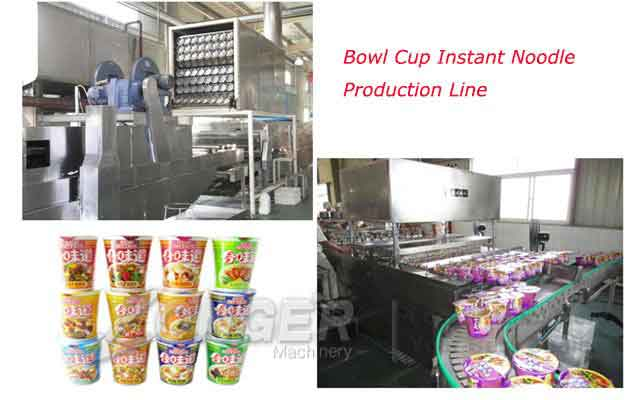 Instant Noodles Production Line - Bowl & Cup Shape