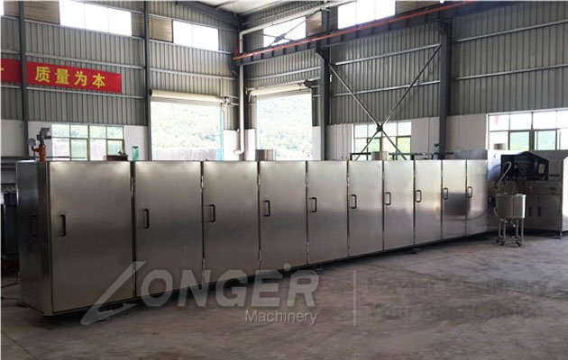 Ice Cream Cones Processing Line|Waffle Sugar Cones Making Machine Model A