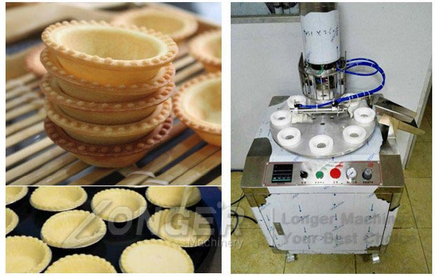 Commercial Egg Tart Machine|Automatic Tart Shell Pressor Machine
