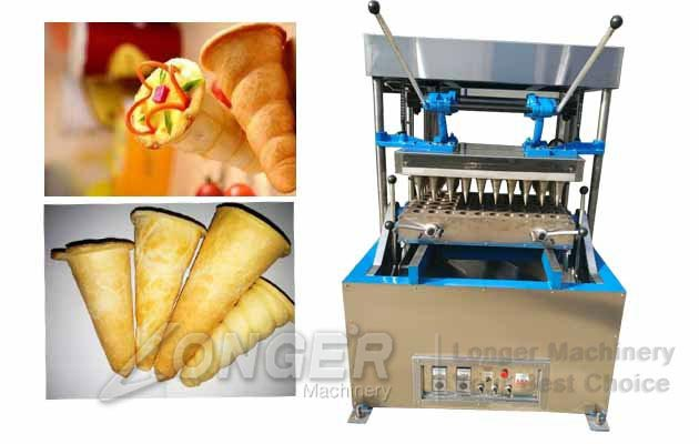 Commercial Pizza Cones Machine|Cone Pizza Dough Forming Machine