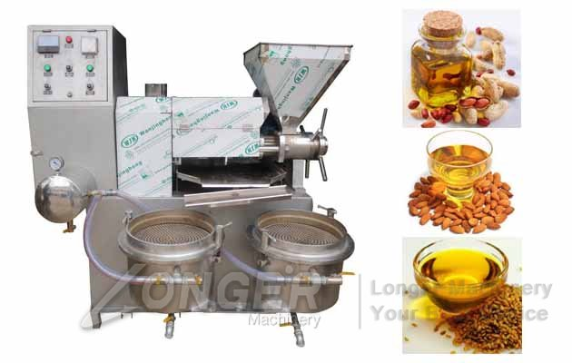 Automatic Screw Oil Extraction Press|Peanuts Soybean Oil Press