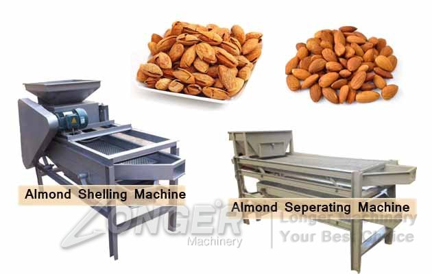 Almond Badam Cracking Shelling Machine|Almond Grading Decorticator Machine