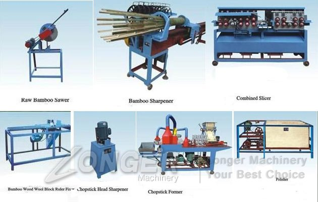 Bamboo Disposable Chopsticks Making Machine