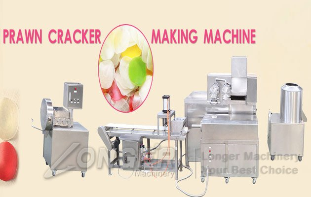 Automatic Prawn Crackers Machine|Shrimp Chips Production Line
