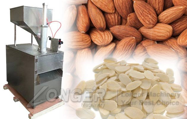 Almond Badam Slicing Machine|Almond Nuts Cutting Machine LGQP-2