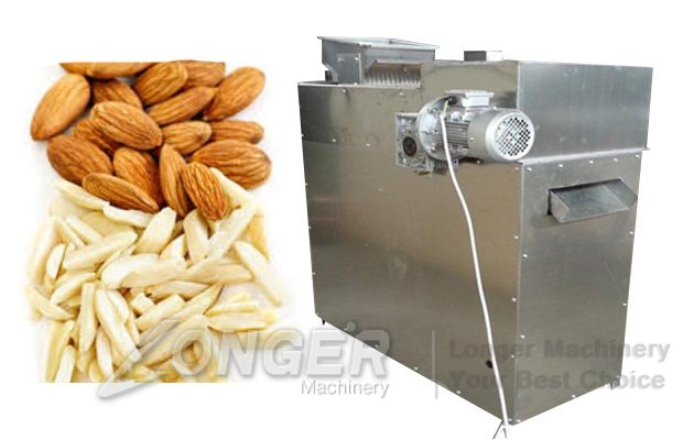 Almond Badam Strips Cutting Machine|A