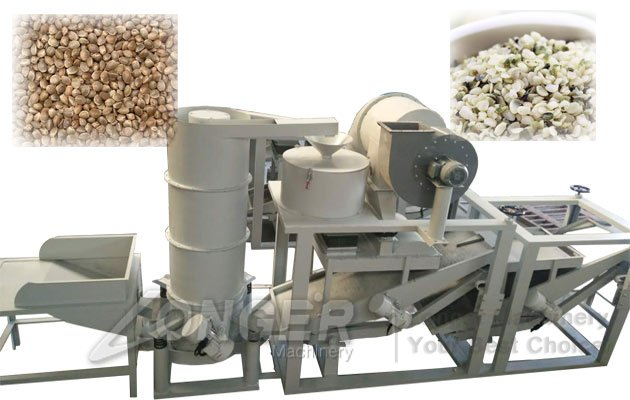 Hemp Seed Shelling Machine Line|Fructus Cannabis Hulling Machine