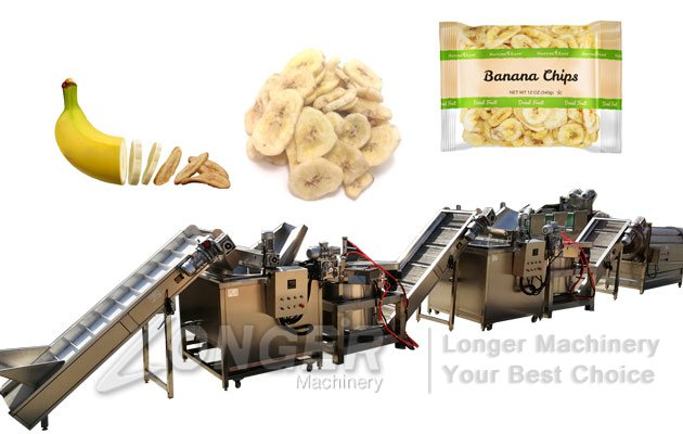 Automatic Plantain Chips Production Line|Equipment For Banana Chips
