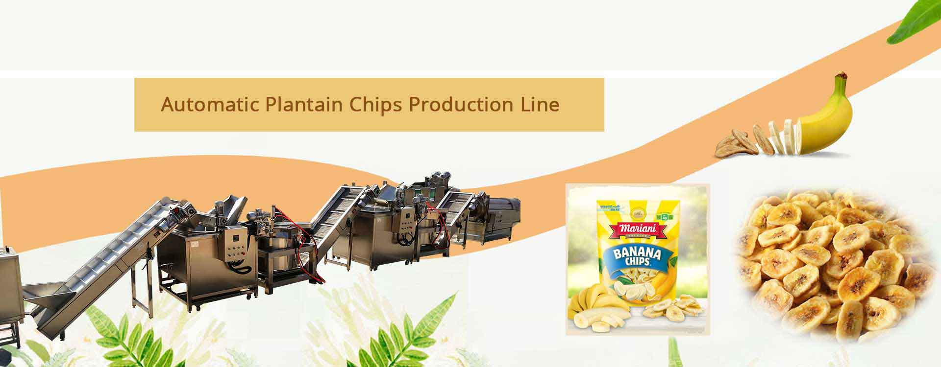 Automatic Banana Chips Machine