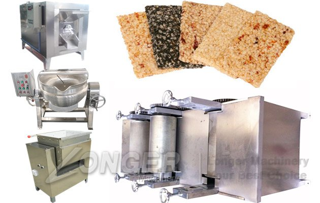 Sesame Brittle Bar Making Machine|Sesame Candy Processing Line