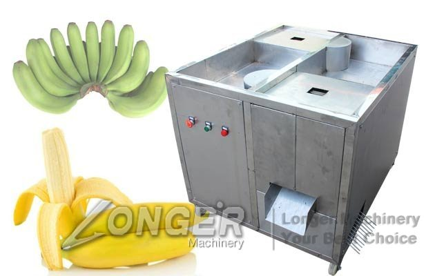 Automatic Green Banana Peeling Machine|Plantain Peeler Equipment