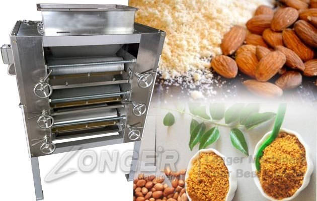 Peanut Almond Nuts Powder Milling Mac