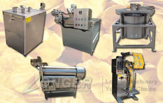 Semi Automatic Plantain Chips Processing Line|Banana Chips Machine