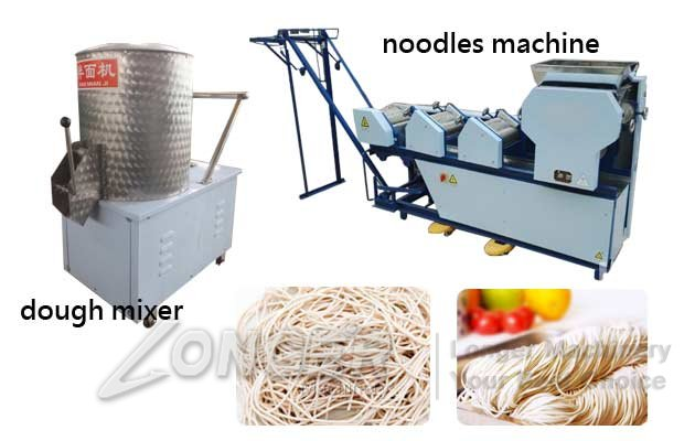 Automatic 6 Roller Commercial Noodles Making Machine