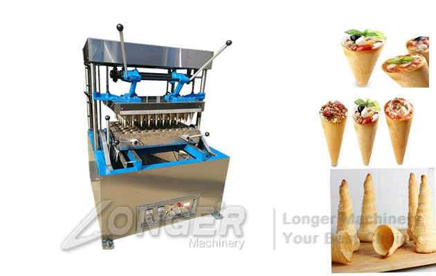 pizza cones making line