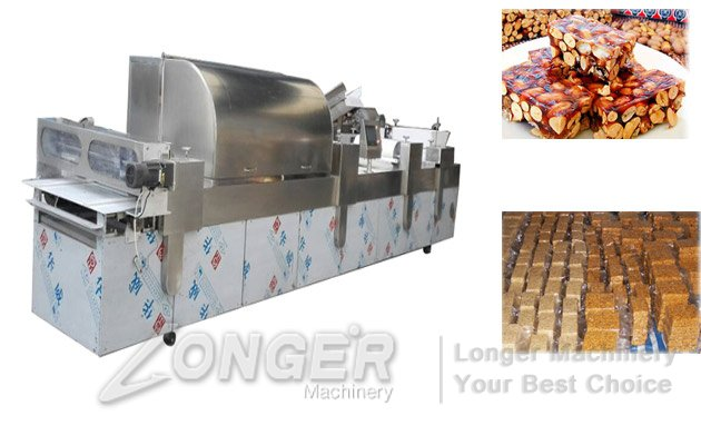 automatic peanut brittle making machine line