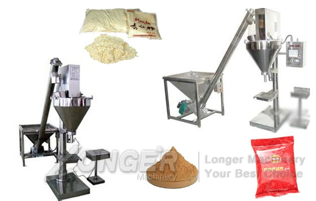 Semi-automatic Quantitative Powder Packing Machine