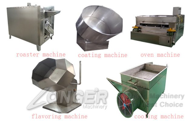 Fish Skin Peanut Making Machine Line|