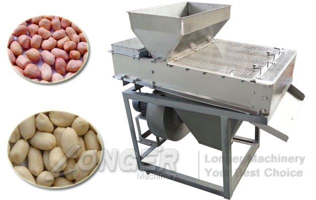 dry model groundnut peeling machine