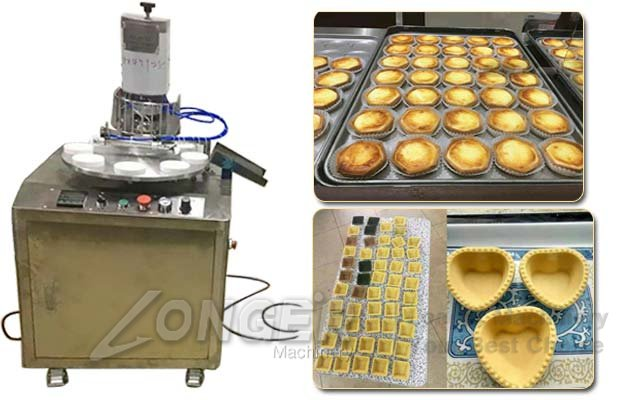 Custard Tart Making Machine|Commercia