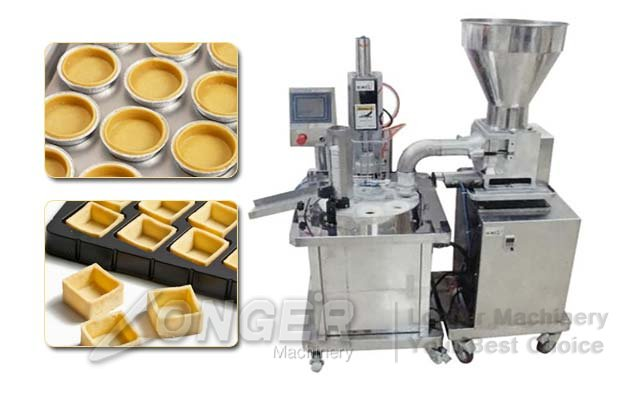 Automatic Commercial Tartlet Making Machine|Egg Tart Shells Press For Sale