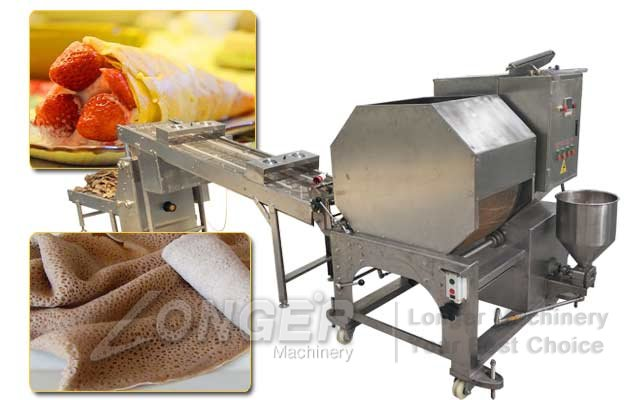 Automatic Injera Making Machine|Lumpia Spring Roll Wrapper Machine