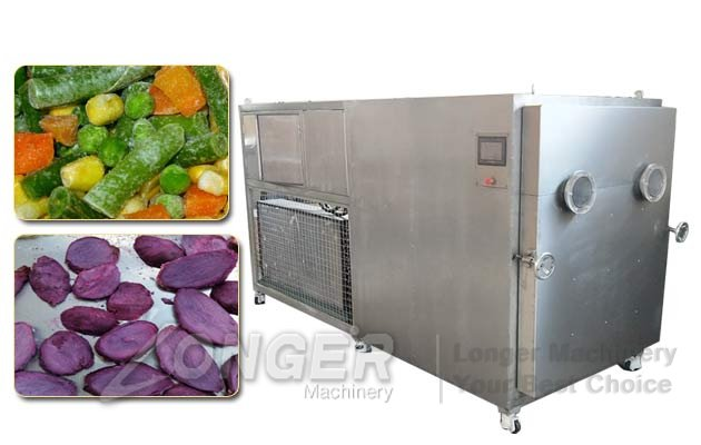 Vacuum Freeze-drying Machine|Automatic Fruit Vegetable Chips Freeze Dryer On Sale