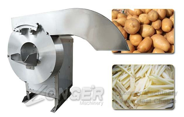 Commercial Potato Strip Cutting Machi