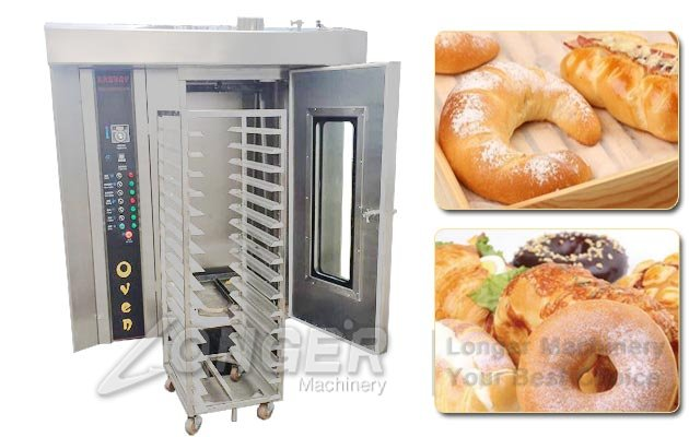 Commercial Rotary Oven For Bread|Stainless Steel Biscuit Hot Air Baking Oven