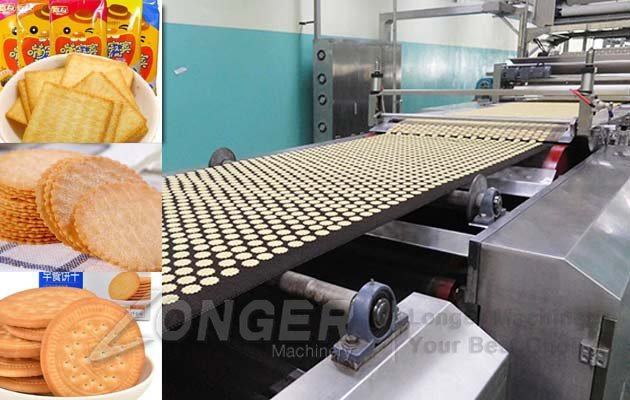Industrial Biscuits Processing Line|A