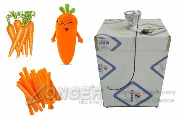 Vegetables Cut Flap Machine|Carrot An
