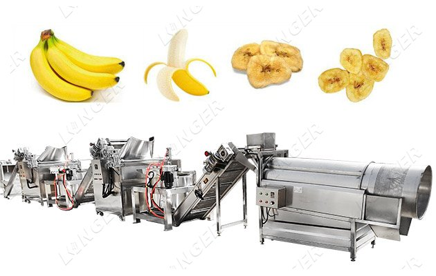 Automatic Plantain Chips Production L