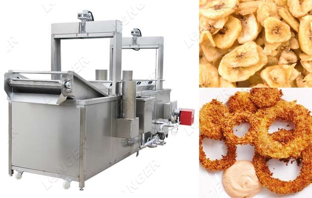 Automatic Continuous Snacks Chips Nam