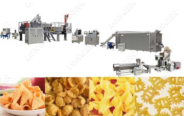Bugles Snack Production Line|Puffed S