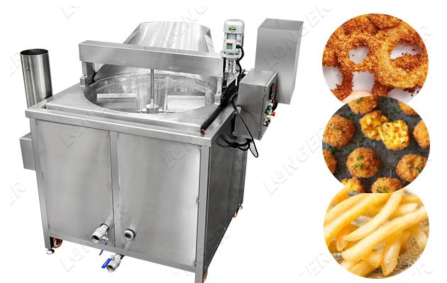 Automatic Snack Fryer Machine|Nuts Ch