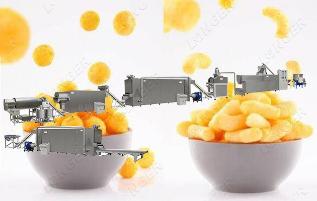 3D Pellet Chips Production Line|Puffe
