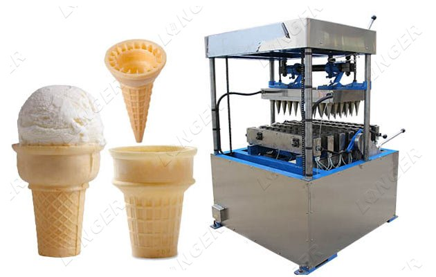 Ice Cream Wafer Cones Making Machine for Commercial Use Price