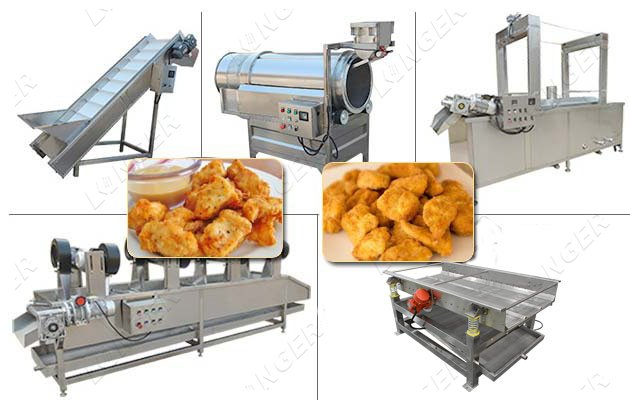 Chicken Nuggets Processing Line|Chick