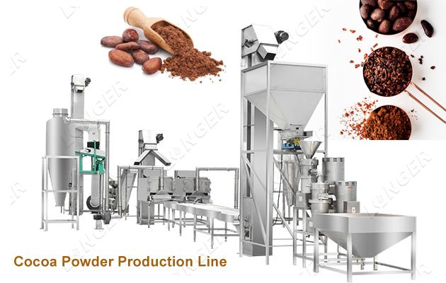 Automatic Cocoa Processing Machine Co