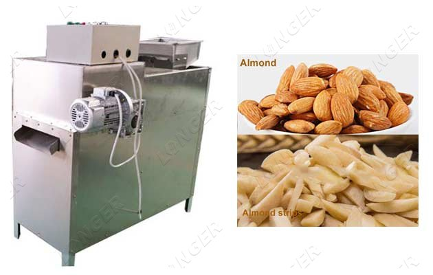 Almond Strips Cutting Machine Badam S