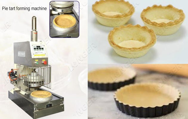 Pie Tart Shell Making Tartlet Press Machine