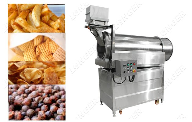 Single Drum Chips Snacks Flavouring M