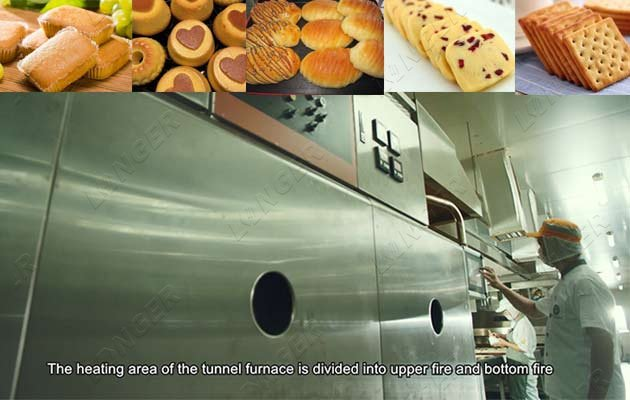 High Quality Bakery Tunnel Furnace For Bread & Biscuit