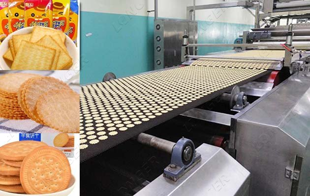Commercial Biscuit Making Machine Processing Line 150-200kg/h